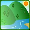 川・湖の天気アイコン